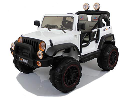 Mondial Toys Auto ELETTRICA 12V per Bambini 2 POSTI Maxi Fuoristrada con...