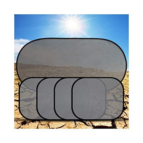 Pare-soleil pour voiture (paquet de 5) Pour enfants, bébé, animal de compagnie, rayons UV universels, convient à la plupart des véhicules ~0530