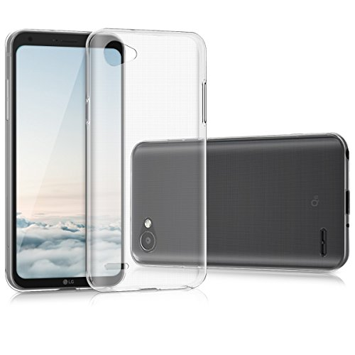 kwmobile LG Q6 / Q6+ Hülle - Handyhülle für LG Q6 / Q6+ - Handy Case in Transparent