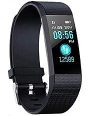 RHG Fitness Tracker, Smart Watch IP67 Waterdichte stappenteller Activiteit Bluetooth Polsband met Slaapmonitor Sport Armband Calorieën Track SMS/Call Herinneren voor vrouwen en mannen Kids
