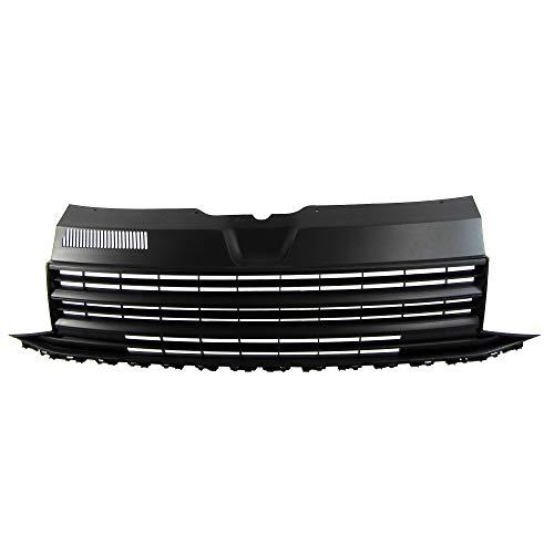 JOM Car Parts & Car Hifi GmbH 7H6853653JOE Kühlergrill ohne Emblem, schwarz für VW T6