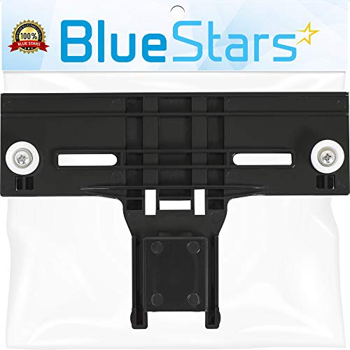 [UPGRADED] W10350376 Dishwasher Top Rack Adjuster 0.9' Diameter Wheels with STEEL Screws Replacement part by Blue Stars – Exact Fit For Whirlpool & Kenmore Dishwashers