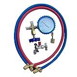 Bettying - Conectores de corriente R410A, para aire acondicionado, refrigerante, mesa de refrigerantes, aire acondicionado, válvula universal, contador de frío, juego de herramientas