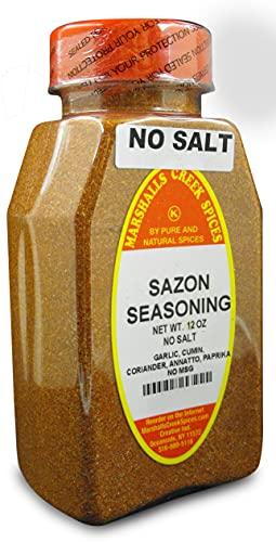 SAZON SEASONING NO MSG