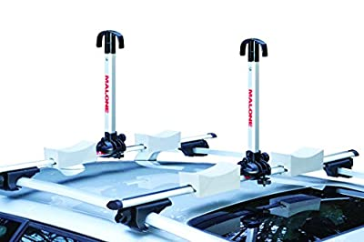 Malone Stax Pro2 Universal Car Rack Folding Kayak Carrier (2 Boat Carrier)