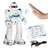 LTDD Ferngesteuertes Roboterspielzeug für Kinder Intelligenter Programmierbarer Roboter mit Infrarotsteuerungsspielzeug