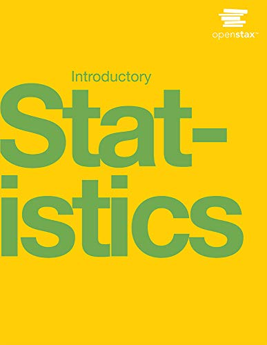 Compare Textbook Prices for Introductory Statistics by OpenStax paperback version, B&W 1st Edition ISBN 9781506698236 by OpenStax