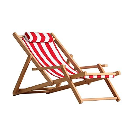 DUNAKE Sillón de Gravedad Cero Plegable, sillones de Patio, jardín Ocio tumbonas, salón al Aire Libre tumbonas Cero Gravedad reclinable Ajustable, Patio ergonómico reclinable (Color : Style-4)