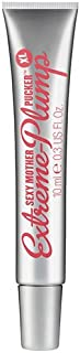 Soap & Glory Sexy Mother Pucker XL Extreme-Plump Lip Shine, Clear, 0.33 oz
