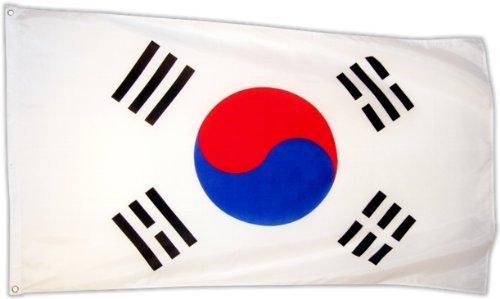 Fahne Flagge Südkorea 90 x 150 cm