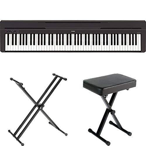 Yamaha P45B Digital Piano with Yamaha Stand and Bench