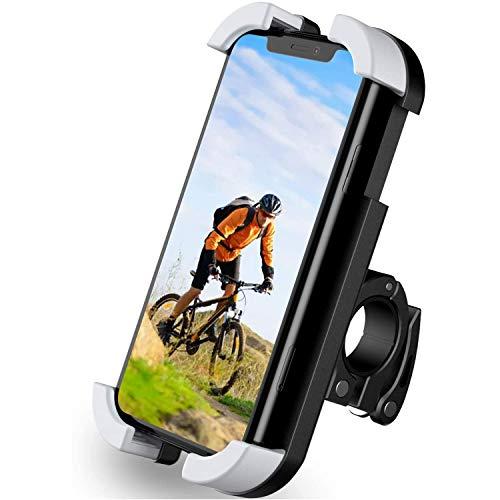 AMOYEE Soporte de montaje del teléfono de la bicicleta Anti Shake 360 ° Rotación Universal Soporte de teléfono celular for la bicicleta y manillar de la motocicleta Soporte de teléfono estable súper