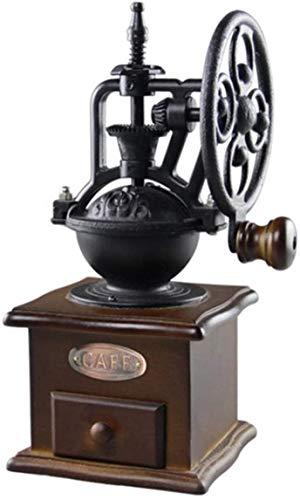 Houten Handgemaakte Koffiemolen Vintage Style Koffiemolen slijpschijf Ontwerp Drawer home-based Goede kwaliteit