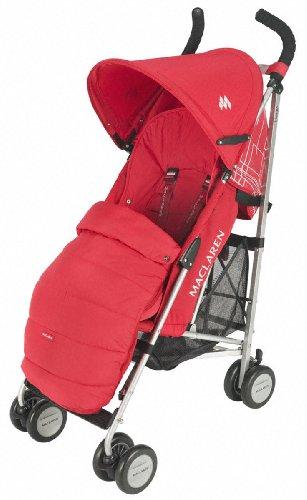 Maclaren AOX01012 - Packaway Fußsack Scarlet