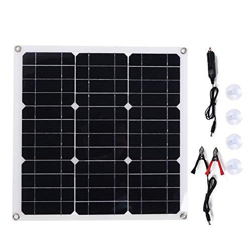 Atyhao Tragbare Flexible monokristalline Silizium-Solarpanel-Kits zum Laden von Batterien, 30 W.