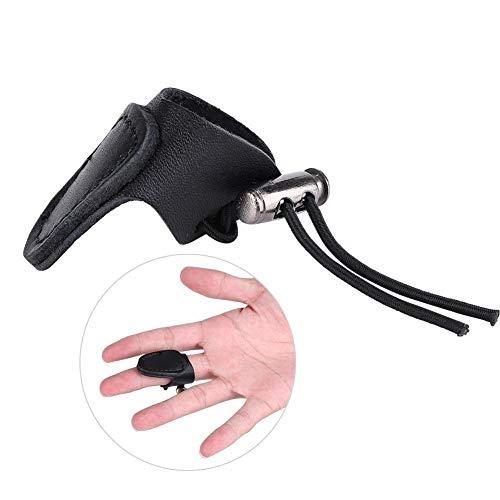 Archery Finger Protector - Archery Glove Hunting Thumb Finger Guard Protector de Disparo de Flecha for Arco Compuesto y Reflejo