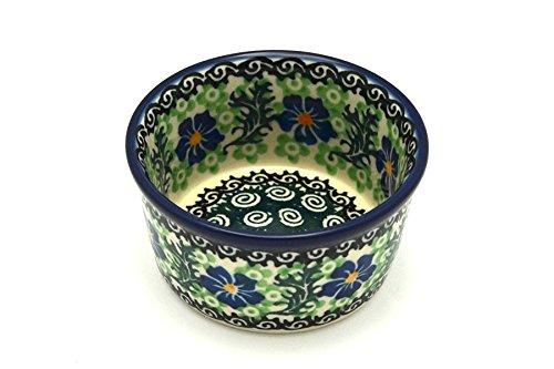 Polish Pottery Ramekin - Sweet Violet