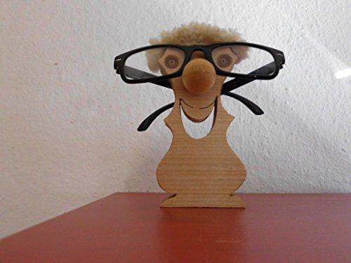 Brillenständer, Holz, Brillenhalter, Schreibtischablage, Brillenbutler,Erik