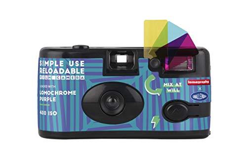 Fotocamera Simple Use Ricaricabili Challenger – LomoChrome Purple
