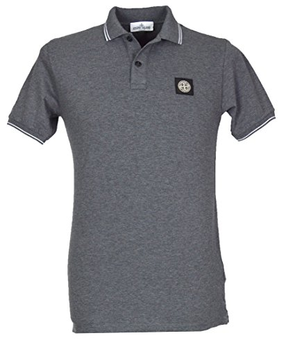 Stone Island Junior Jungen Poloshirt – 681621348 Gr. 10 Jahre, grau