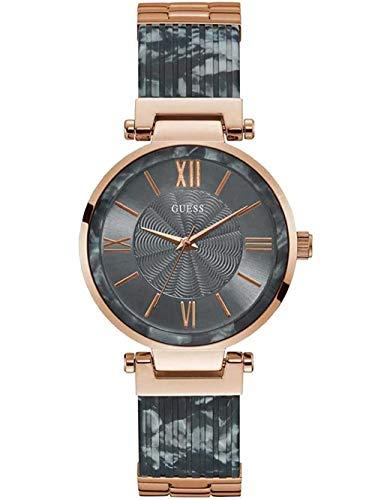 GUESS Reloj Analógico para Mujer de Cuarzo con Correa en Acero Inoxidable W0638L11