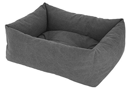 Kerbl 80346 gosig säng Lucca, 60 x 70 cm, grå