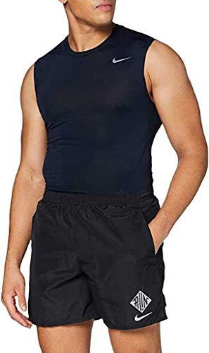 NIKE Chllgr WR Gx Shorts Pantalones Cortos para Hombre, Gris y Negro, Medium