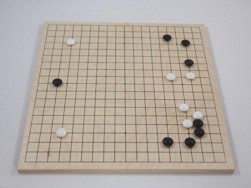 Spiel Birkenholzbrett 19x19