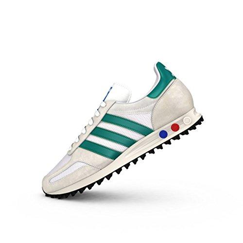 adidas Originals LA Trainer Damen Sneaker Laufschuhe Freizeit Schuhe Turnschuhe, Schuhgröße:EUR 36;Farbe:S79942 - Weiß/Grün