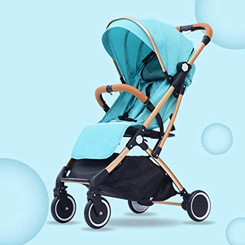 Best Price YRSTC Compact Stroller,Lightweight Infant Pram with Compact Fold, Multi-Position Reclin...