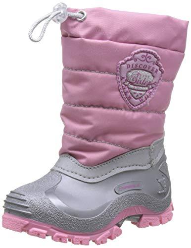 Spirale Mädchen Sabrina Schneestiefel, Pink (Rosa/Grigio 02774218), 30 EU