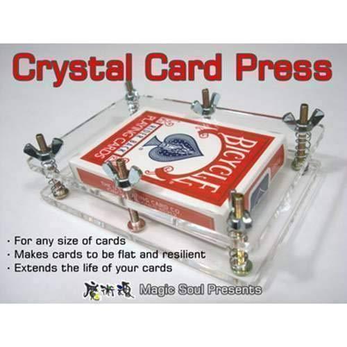 SOLOMAGIA Crystal Card Press - Accessories - Zaubertricks und Props