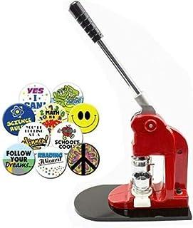 Aohuada Micro machine à badges interchangeable avec 500 composants pour badges personnalisés (32 mm)