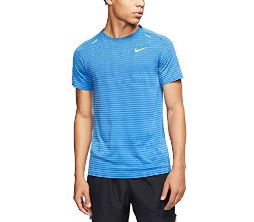 Nike Herren Techknit Ultra Trikot, Indigo Force/White-Blue Void-r, M