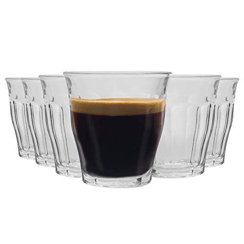 DURALEX Verres à Shot/Expresso Picardie - 90 ML - Transparent - Lot de 12