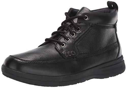 Nunn Bush Men's Cam Moccasin Toe Chukka Boot, Black, 11 Medium US