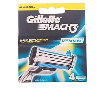 Gillette Mach3 Razor Blades for Men, 4 Refills from Procter & Gamble