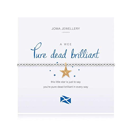 Joma Jewellery a Little Pure Dead Brilliant Bracelet | Scottish