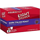 Eight O'Clock Dark Italian Roast Coffee, 12 Ct