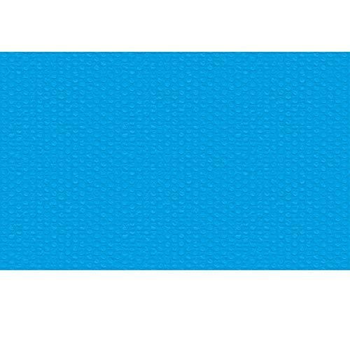 TecTake 800711 Pool Solarabdeckplane, schnellere Wassererwärmung & geringere Wasserverdunstung, rechteckig, blau - Diverse Größen - (1,6x2,6 m | Nr. 403101)