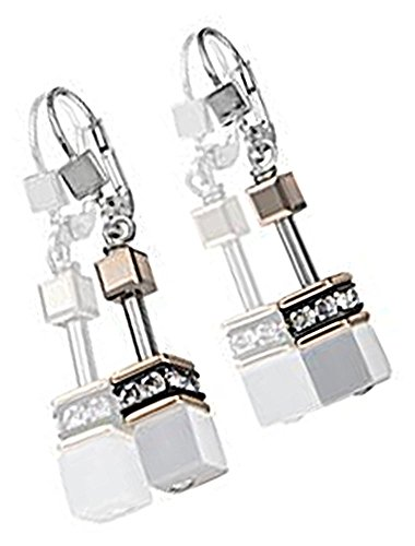 Coeur De Lion Women Stainless Steel Dangle & Drop Earrings - 4016/20-1400
