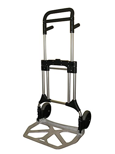 Diable pliable professionnel extra plat SHERPA© charge maximale 200 kg.