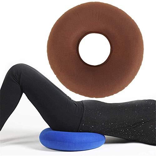 XIAOWANG Air cushion, non-slip orthopedic Lordosenstützkissen for hemorrhoid pain, sciatic nerve, bed sores, pregnancy coccyx pain,E
