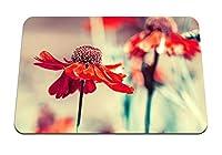 22cmx18cm マウスパッド (花つぼみの花びら) パターンカスタムの マウスパッド