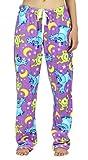 Disney Women's Super Minky Plush Lounge Pajama Pants, X-Large, Violet Monsters Inc