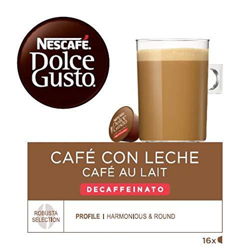 Nescafé Dolce Gusto Café con leche descafeinado