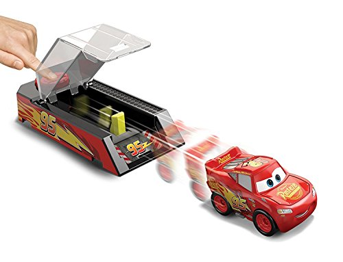 Disney Pixar Cars Mini Racers Jackson Storm Launcher