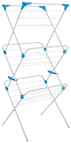 Minky 3 Tier Indoor Airer with 15 m Drying Space, Metal, White