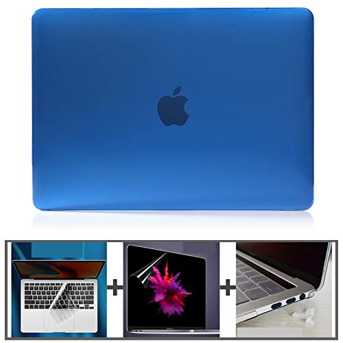 WSGYX Laptop Case Crystal Hard Laptop Case for Macbook Air 13 Case A2179 A2337 for Macbook Pro 13 Cover A2289 A2159 Air13 M1 New Case (Color : Royal Blue, Size : A1466 A1369 Air13)