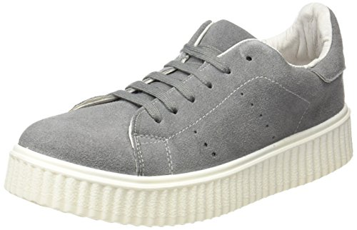 Coolway Damen Betty Sneaker, Grau (Grey 800), 38 EU